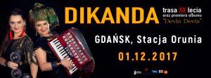 Dikanda Gdańsk 2017 event cover