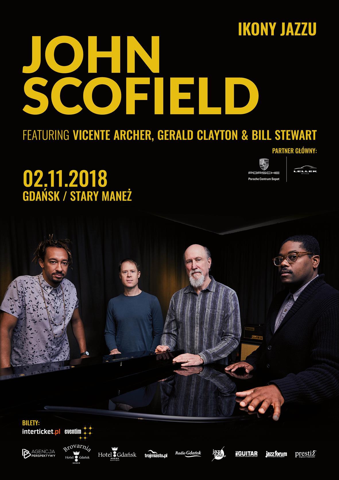 Ikony Jazzu - John Scofield - Poster (Copy)