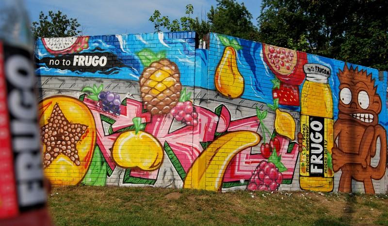 GRAFFITI I MURALE